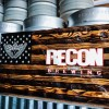 Recon Brewing Flag created by our head chef, Joe