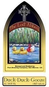 Lost Abbey Duck Duck Gooze