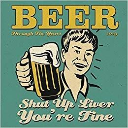 MMMM… Beer Through the Years 2019 Wall Calendar