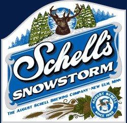 August Schell 2010 Snowstorm Dunkel Doppel Weizenbock