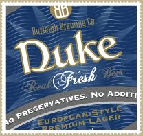 Burleigh Brewing Company Duke Premium Lager