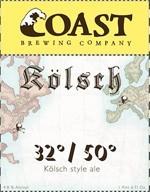 Coast Brewing 32/50 Kolsch