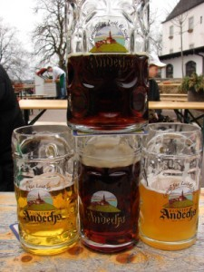Kloster Andechs Biergarten
